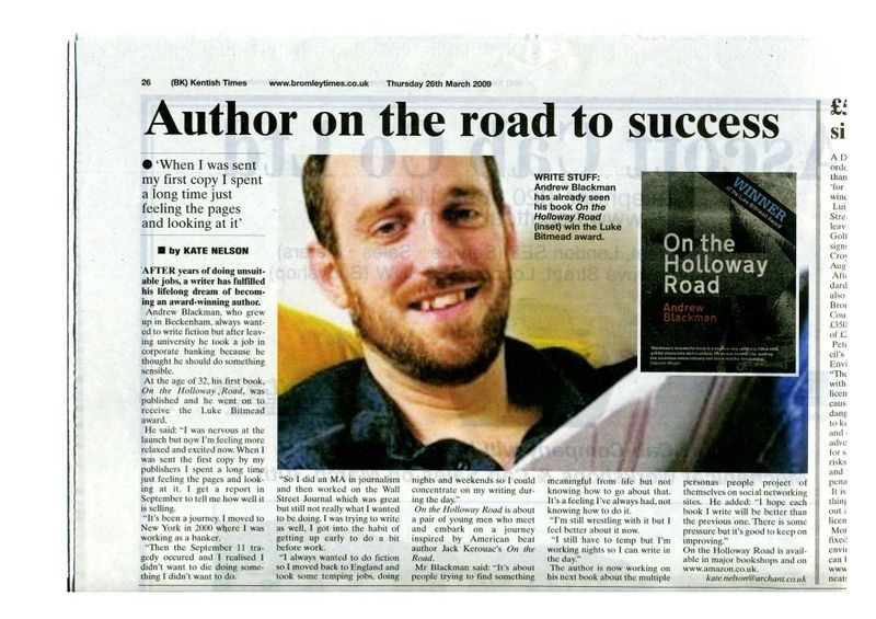 Kentish Times article