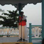 Barbadian poet Margaret Gill