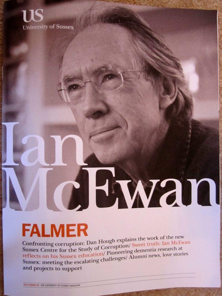 Ian McEwan writing style?