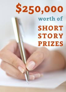 $250,000 writing contests book cover